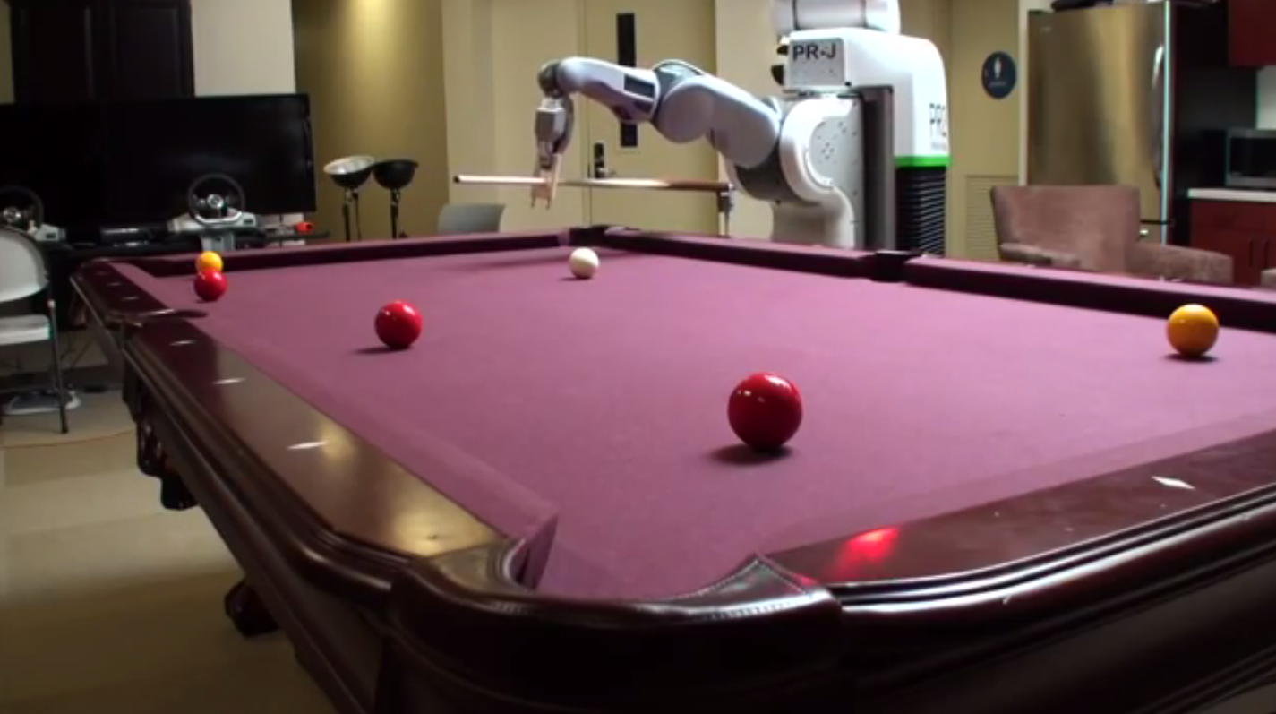 Robots, a revolution in billiards