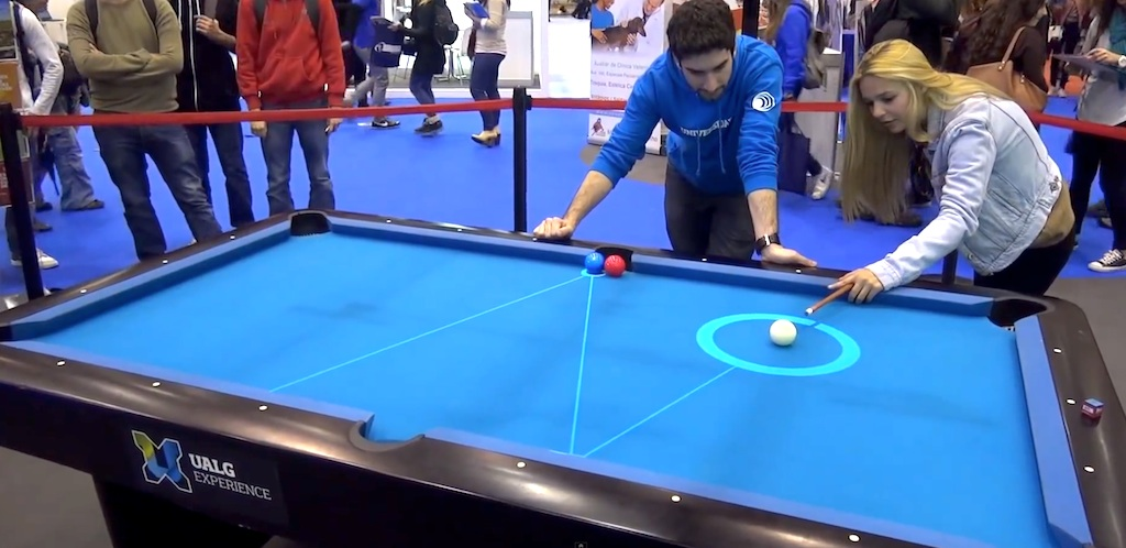 This is how billiards will be in the future